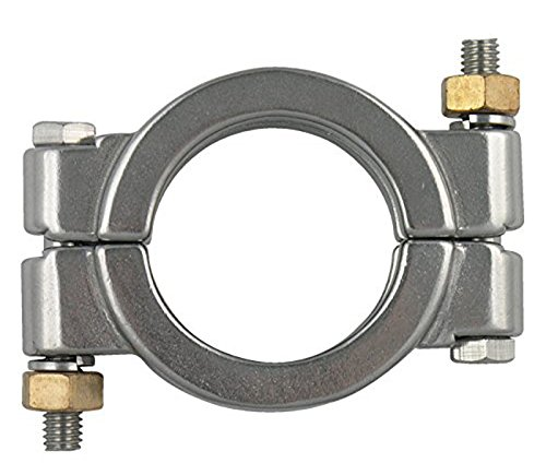 """VNE 13MHP2.0 High Pressure Bolted 2"""" Sanitary dairy Clamp 304 Stainless Steel"""