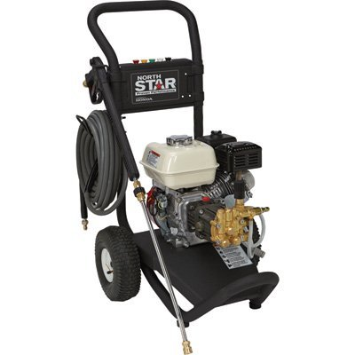 NorthStar Gas Cold Water Pressure Washer - 3000 PSI, 2.5 GPM, Honda Engine, Model# 15781120