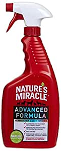 Nature's Miracle Advanced Stain & Odor Remover, 24-Ounce Spray