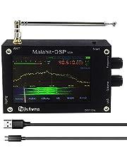 """Nieuw 3,5"""" 50KHz-2GHz Malahit DSP SDR ontvanger Malahit SDR korte golf radio ontvanger Malahit DSP SDR ontvanger aluminiumlegering, met koelgat"""
