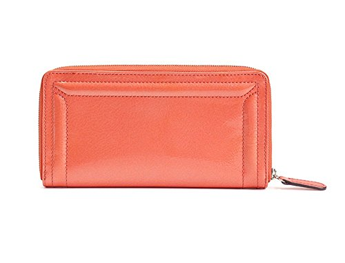 ifoutlet Leder groß Zip Wallet Clutch Handtasche OSsm0g
