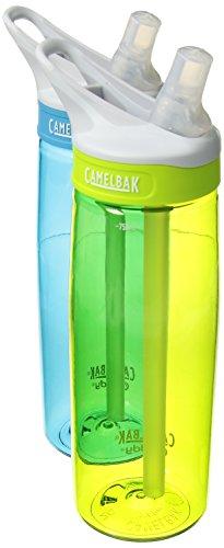 CamelBak Eddy 2-Pack Waterbottle, Rain/Limeade, 75 L