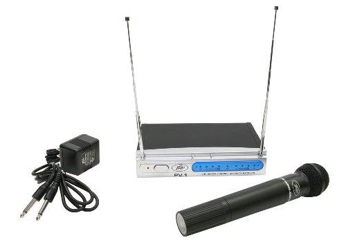 Peavey PV-1 V1 Handheld 203.400MHz Wireless Microphone System (Peavey Wireless Mic)