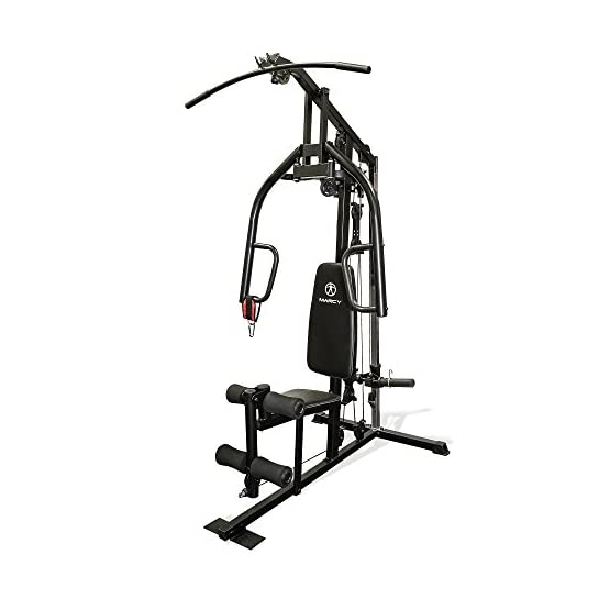 marcy free weight strength training home exercise workout gym