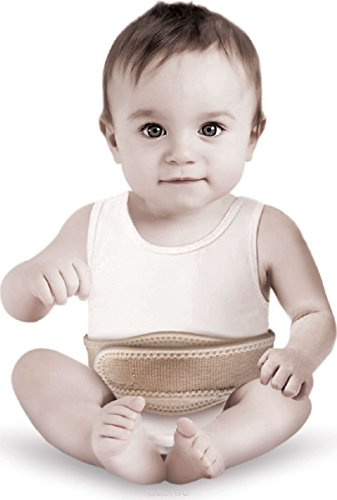 Lauftex Umbilical Hernia Belt for Baby, One Size Fits All by Lauftex