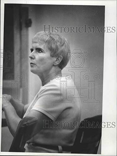 Vintage Photos 1978 Press Photo Charlotte Durfee in Court in Madison for her Trial, Wisconsin from Vintage Photos