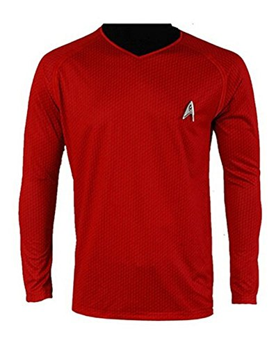 Cosparts Into Darkness Scotty Mans Red Uniform T-shirt