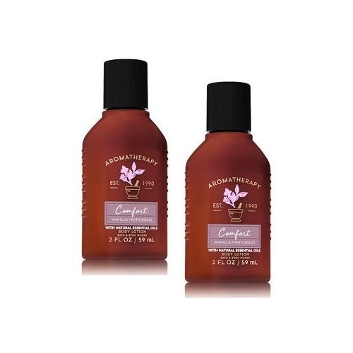 Bath and Body Works 2 Pack Aromatherapy Comfort Vanilla & Pa
