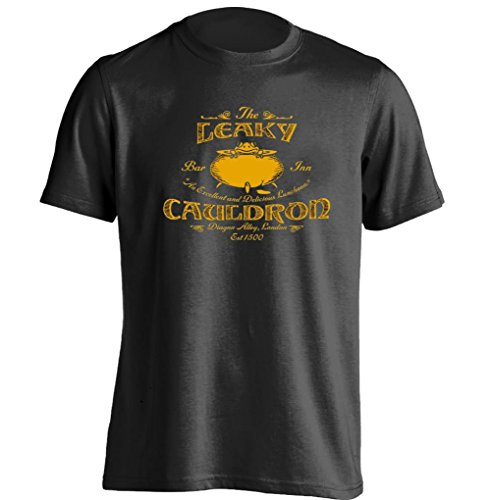 [The Leaky Bar Inn Cauldron Diagon Alley London Harry Potter Unisex Cool T Shirt] (Harry Potter The Leaky Cauldron)