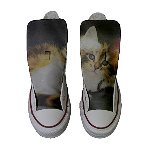 Converse Customized Chaussures Coutume (produit artisanal) Kitty