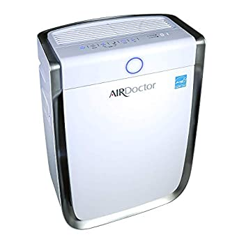 Image of AIRDOCTOR 4-in-1 Air Purifier UltraHEPA, Carbon & VOC Filters Cleaner Sensor Automatically adjusts Filtration to air Quality! Portable. Quiet. Captures Particles 100x Smaller Than Ordinary HEPA. Home and Kitchen