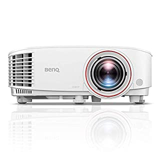 BenQ TH671ST 1080p Short Throw Projector | 3000 Lumens for Lights On Entertainment | 92% Rec. 709 for Accurate Colors | Low Input Lag Ideal for Gaming (B076MHKTFH) | Amazon Products