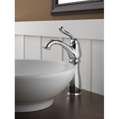 Delta 579-DST Leland Single Handle Centerset Lavatory Faucet with Riser - Less Pop-Up, Chrome high-quality