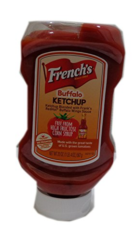 French`s Buffalo Ketchup 20 oz Bottle (Pack of (French Ketchup)