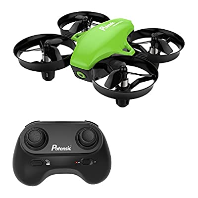 Mini Drone, Potensic A20 Altitude Hold Quadcopter Drone 2.4G 6 Axis Headless Mode Remote Control Nano Quadcopter for Beginners