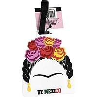 By Mexico Identificador de Maletas Modelo Floreada