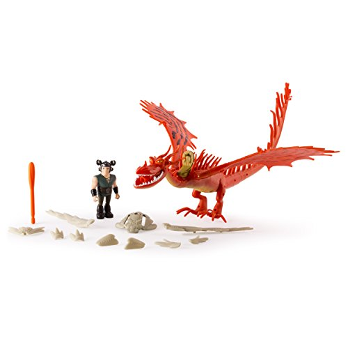 Dragons: Race to The Edge - Hookfang & Snotlout Armored Dragon