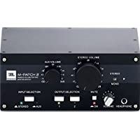 Deals on JBL M-Patch 2 Passive Stereo Controller and Switch Box