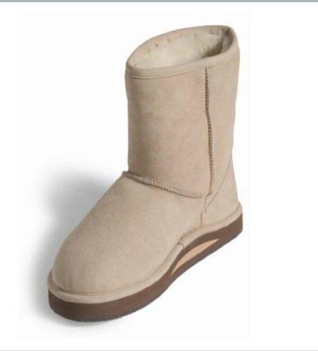 Rainbow Mens Sheepskin Baja Boots (Black) UK 10