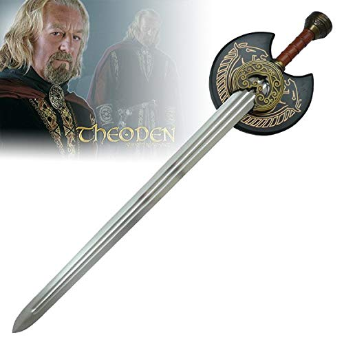 RealFireNSteel Lord of The Rings - King Theoden's Herugrim Sword -