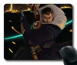 Customizablestyle League of Legends Jayce Comic Mousepad, Customized Rectangle DIY Mouse Pad