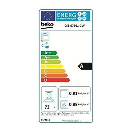 Beko cse67301gw: Amazon.es: Electrónica