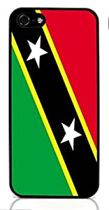 Flag of Saint Kitts and Nevis for Case For Iphone 4/4S Cover ( Sugar Skull )