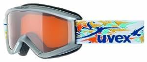 Uvex Speedy Pro Junior Ski Goggle (Grey Frame, UV Gold Lens)