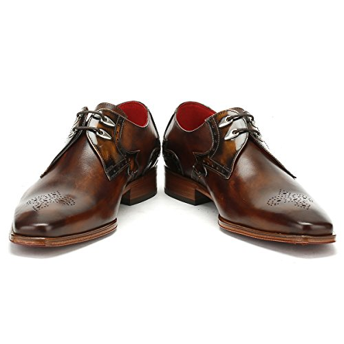 Jeffery West Hommes College Camel Marron Echarpeace Brogue Toledo Chaussures