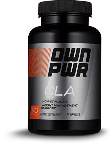 OWN PWR CLA Supplement, 90 Softgels, Conjugated Linoleic Acid 800mg For Sale