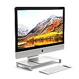 Satechi Aluminum Universal Unibody Monitor Stand for 2017 MacBook Pro, iMac Pro, Google