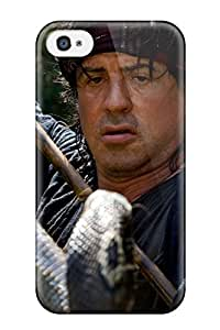 Anti-scratch And Shatterproof Sylvester Stallone Phone Case For Iphone 4/4s/ High Quality Tpu Case