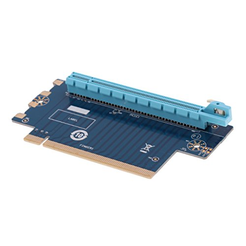 PCI-e PCI Express x16 90° Degree Right Angle Riser Card 16X Male to Female
