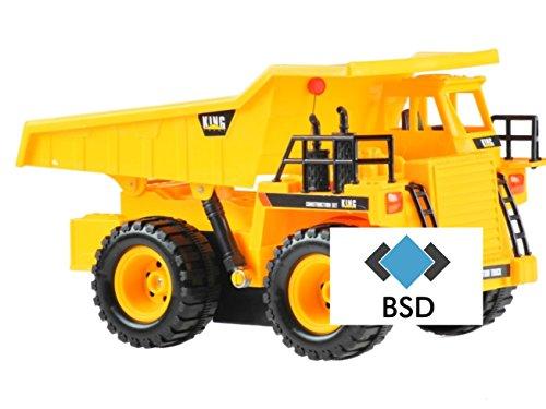 Baumaschine KING FORCE R/C Muldenkipper - Baufahrzeug ferngesteuert - RC Baumaschinen