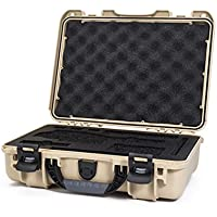 Nanuk DJI Osmo Waterproof Hard Case with Custom Foam Insert for DJI Gimbal Stabilizer Systems Including Osmo, Osmo+ and Osmo Mobile  - 910-OSM10 Tan
