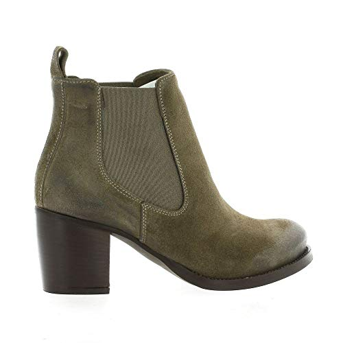 Boots Pao Pao Boots Taupe Taupe Velvet Velvet Leather FSqHz8w