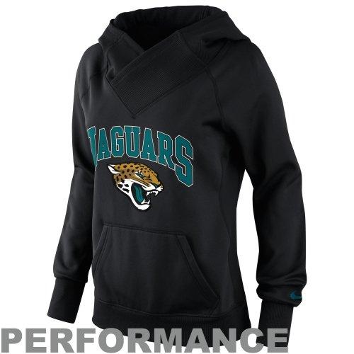Nike Jacksonville Jaguars Ladies Wildcard Pullover Performance Hoodie - Black