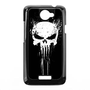 HTC One X Cell Phone Case Black Bloody The Punisher Skull Logo gzg
