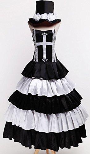 Karazan One Piece Ghost Princess Perona Cosplay Costume Customize Cosplay Costume]()