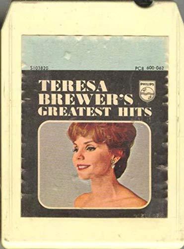 TERESA BREWER: Greatest Hits 8 Track Tape