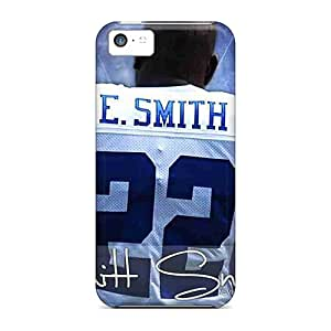 Premium Iphone 5c Case - Protective Skin - High Quality For Dallas Cowboys