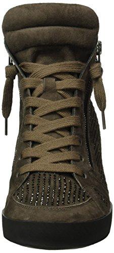 Kennel und Schmenger Schuhmanufaktur Soho 41-50010-558, Zapatillas altas para mujer Marrón (smoke/black Sohle schwarz 499)