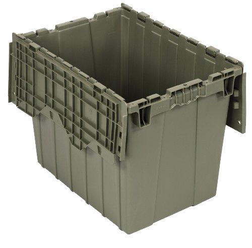 Quantum QDC2115-17 Plastic Storage Container with Attached Flip-Top Lid, 21