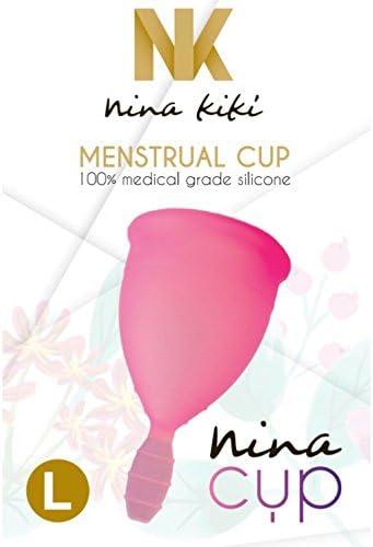 NINA CUP MENSTRUAL CUP SIZE PINK L: Amazon.es: Electrónica