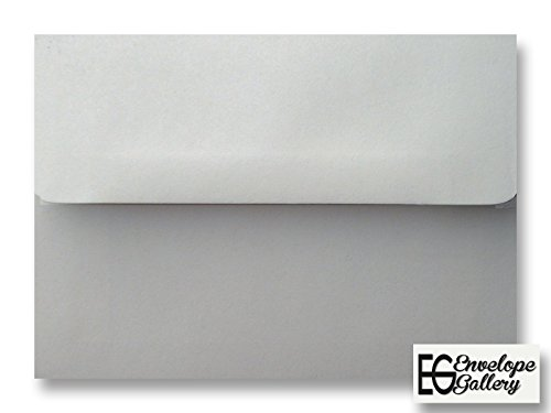 Gray Pastel 100 Boxed A7 Envelopes for 5 X 7 Invitations Announcements from The Envelope Gallery Photo #2