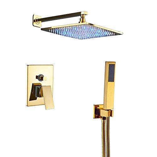 single color led shower head - 8