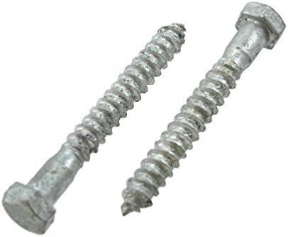 Hot Dip Galvanized 50 3//8x10 Hex Lag Screws