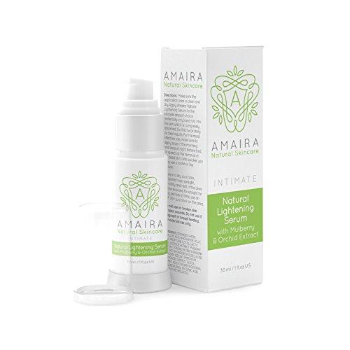 Intimate Lightening Serum - Skin Whitening Cream for Body, Face, Neck, Bikini and Sensitive Area Skin Brightening for Hyperpigmentation Treatment by Amaira 30ml