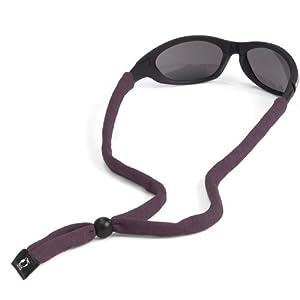 Chums Original Cotton Standard End Eyewear Retainer, Dark Purple