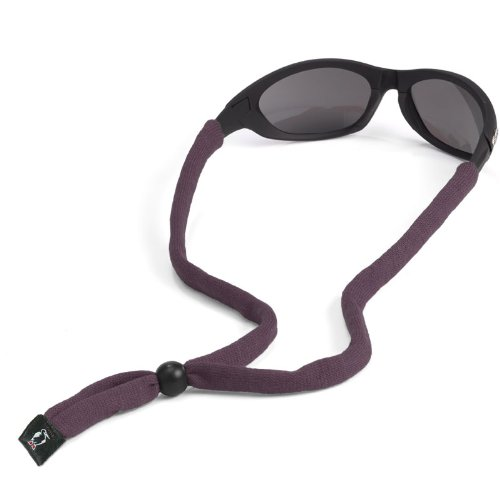 Chums Original Cotton Standard End Eyewear Retainer, Dark - Eyewear Buy